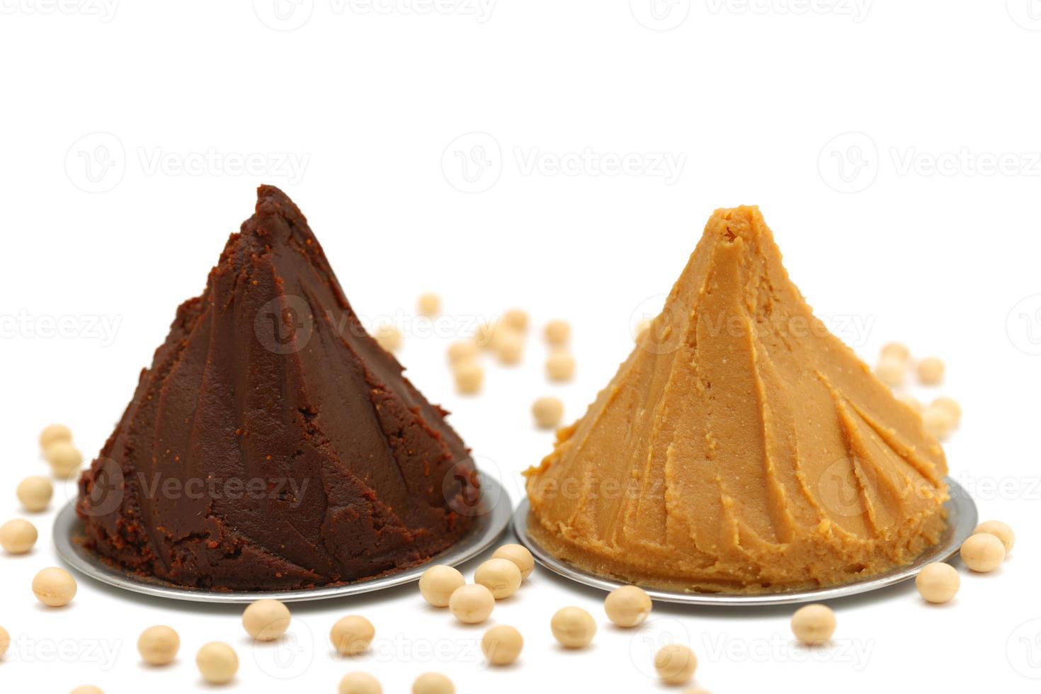 Sojabohnen verarbeitete Lebensmittel foto
