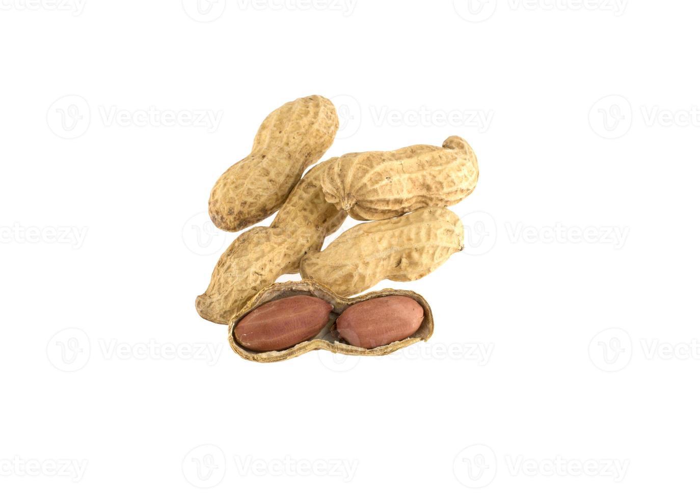 Erdnüsse öffnen foto