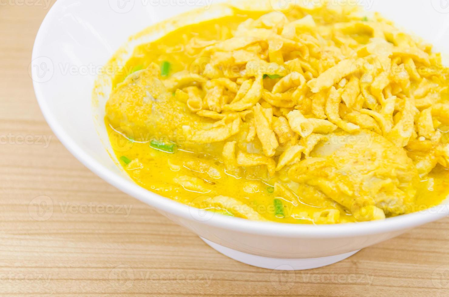 Thai-Nudel-Curry-Suppe foto