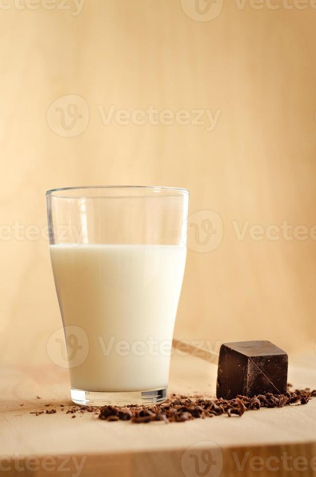 Milch und Schokolade foto
