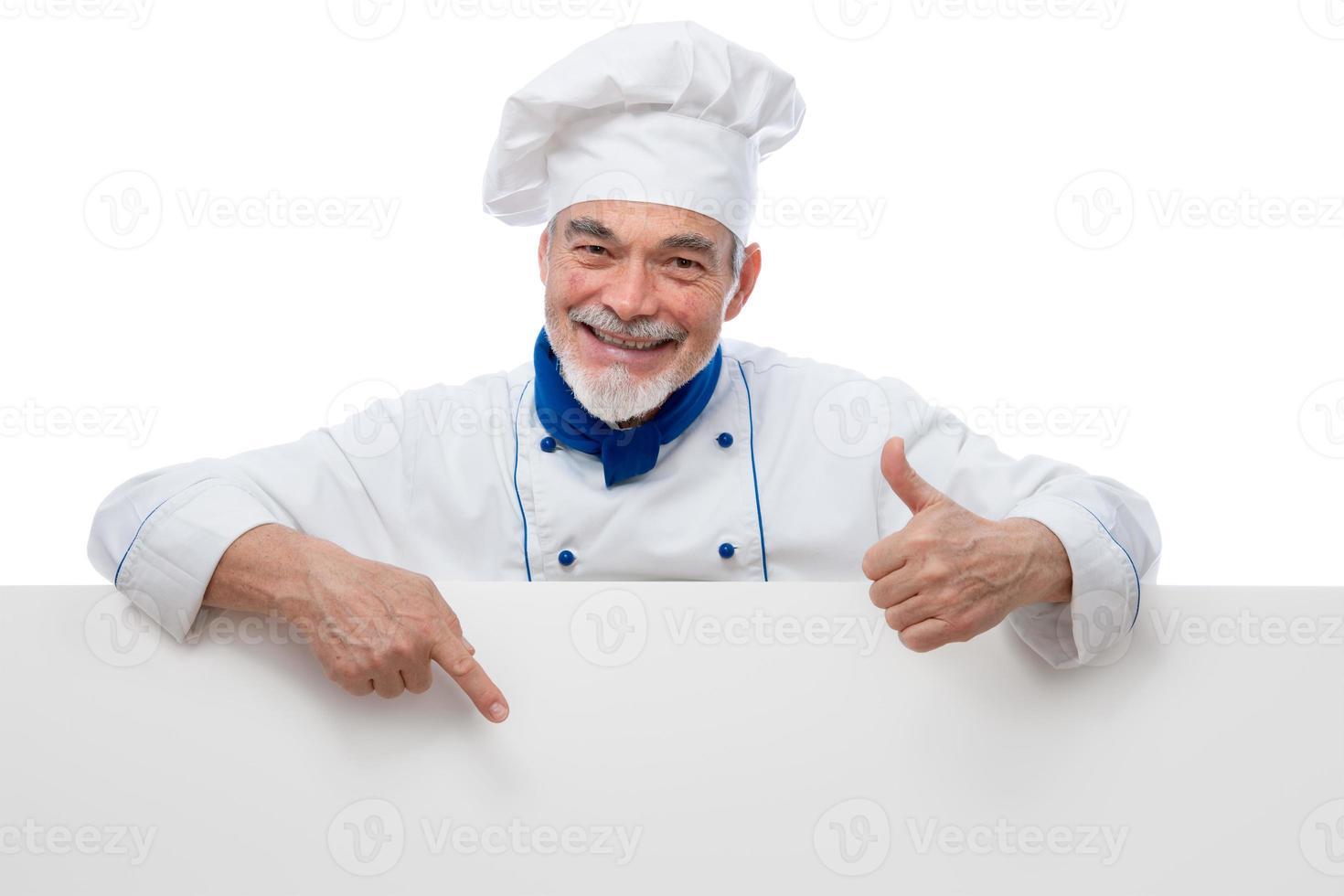 hübscher Koch foto