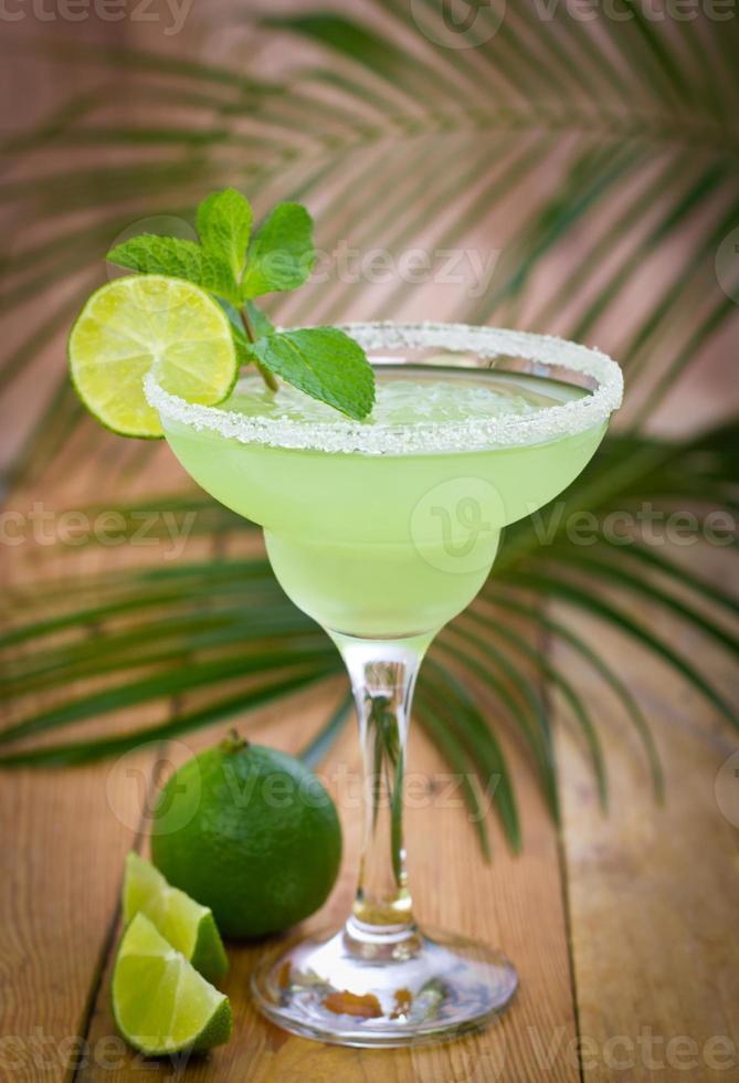 Margarita in einem Glas foto