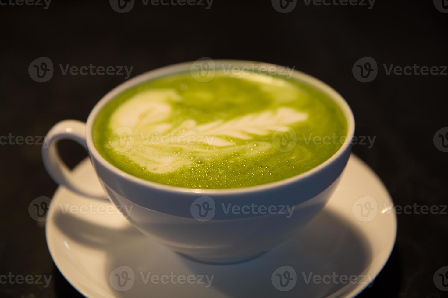 Matcha Latte foto
