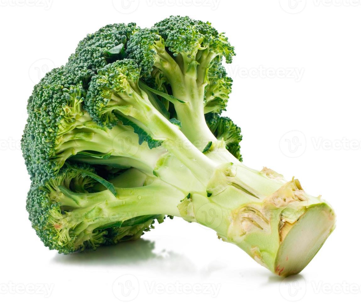 grüner Brokkoli foto
