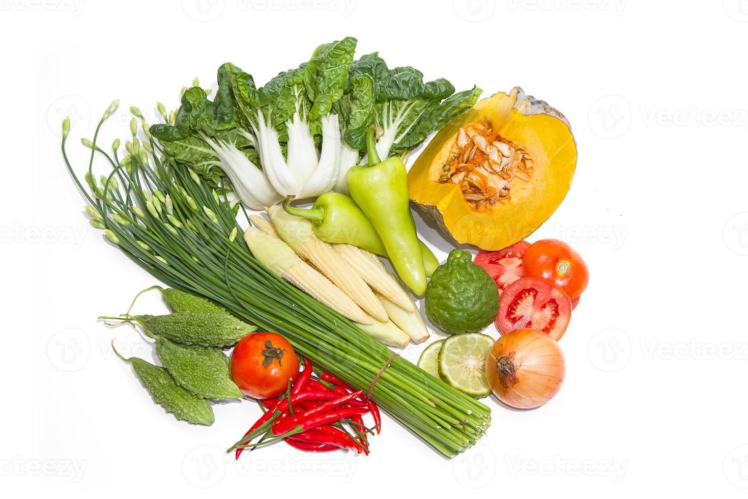 frisches Gemüse für eine gute Gesundheit foto