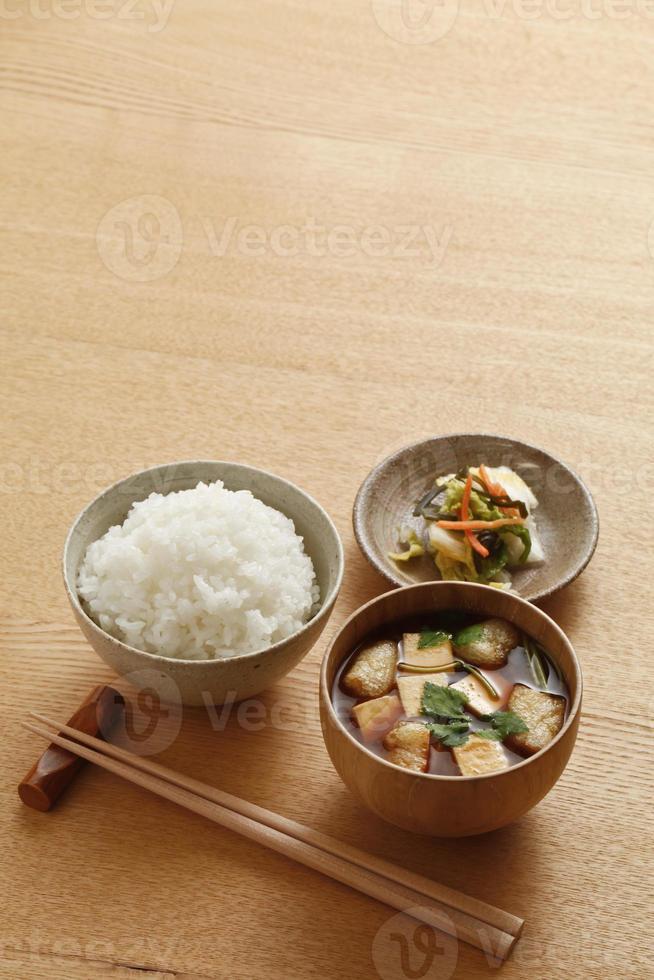 japanisches Frühstück foto
