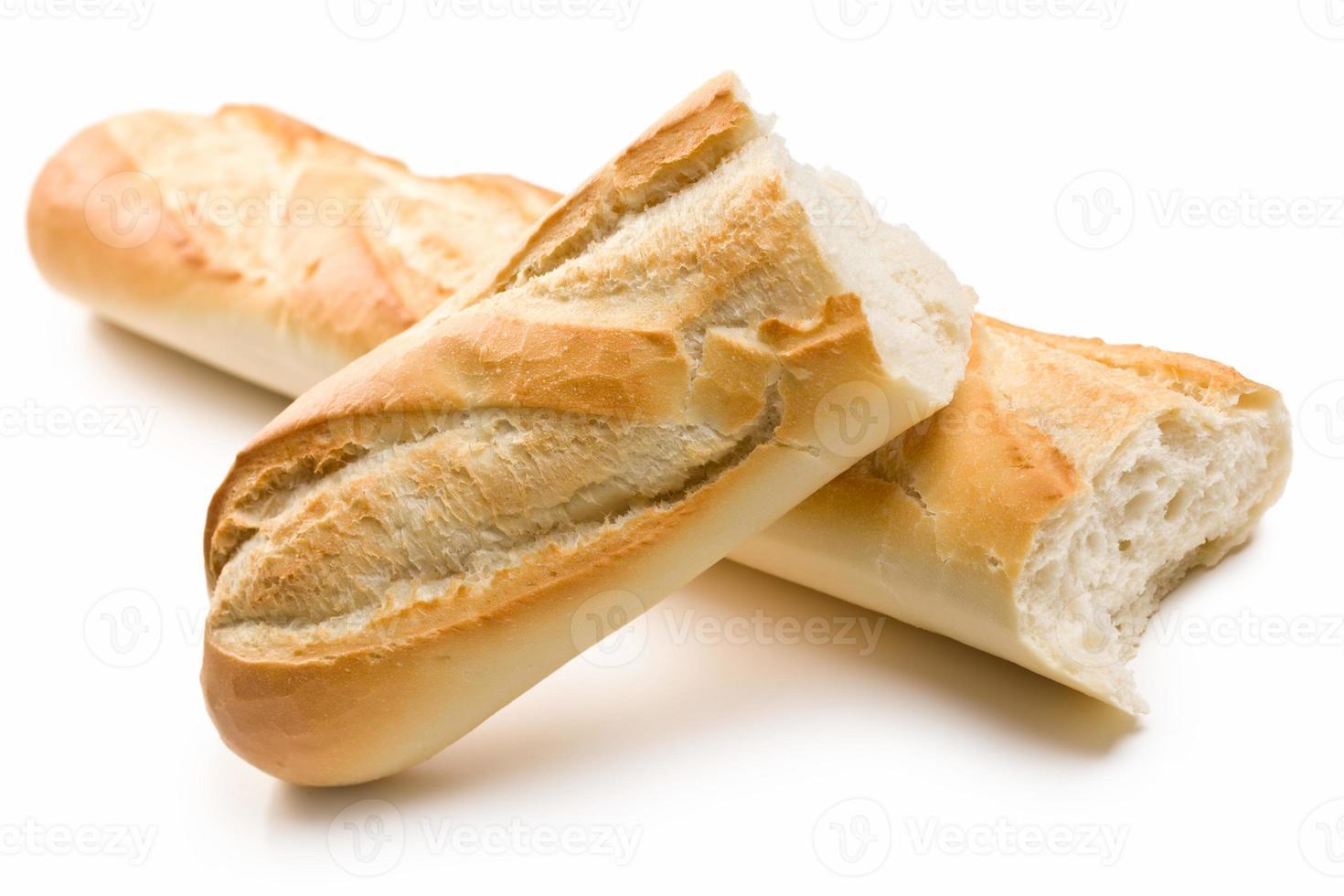 französische Baguettes foto
