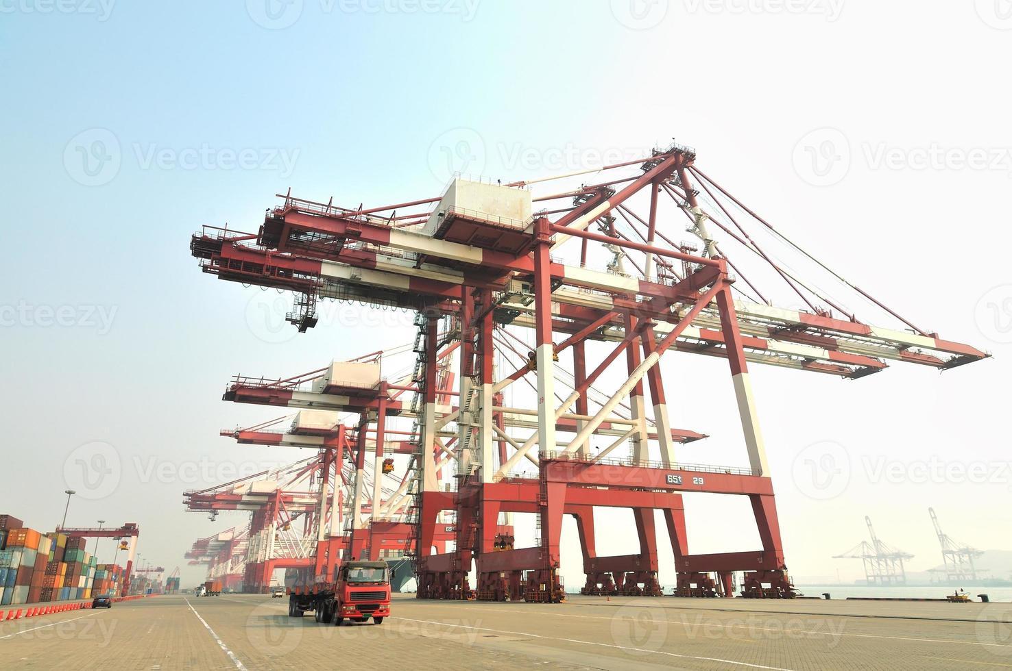 Containerabstellfläche foto