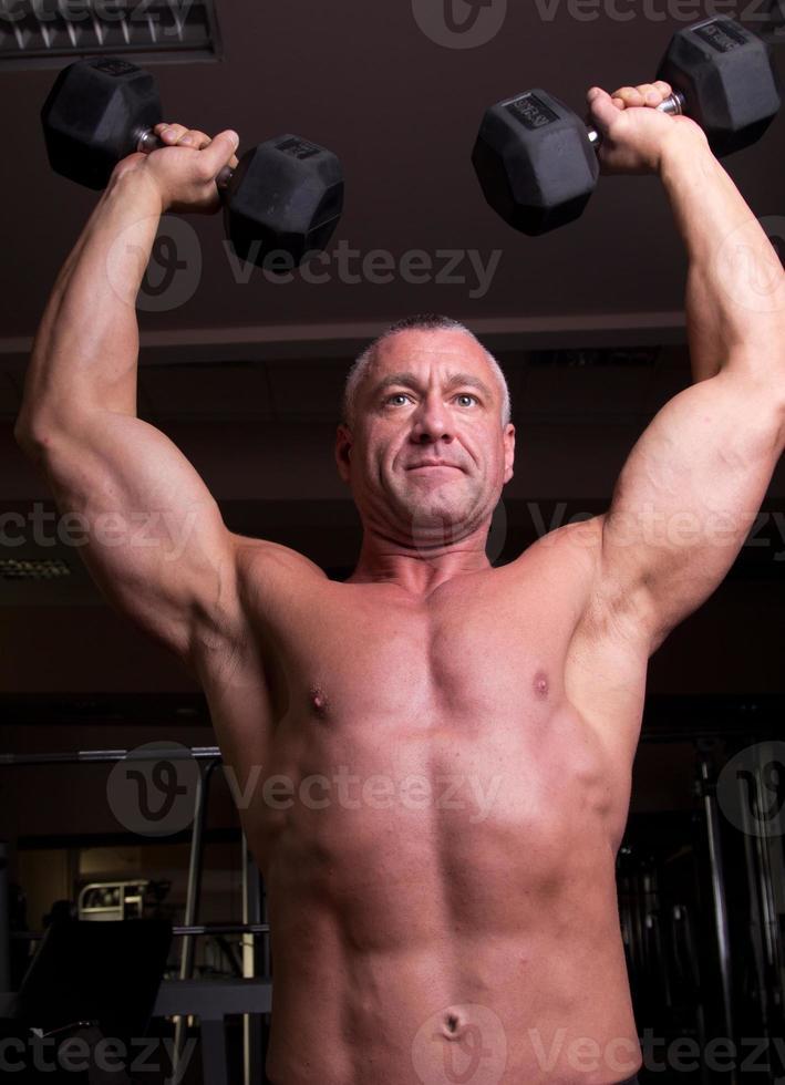 Bodybuilder Training foto
