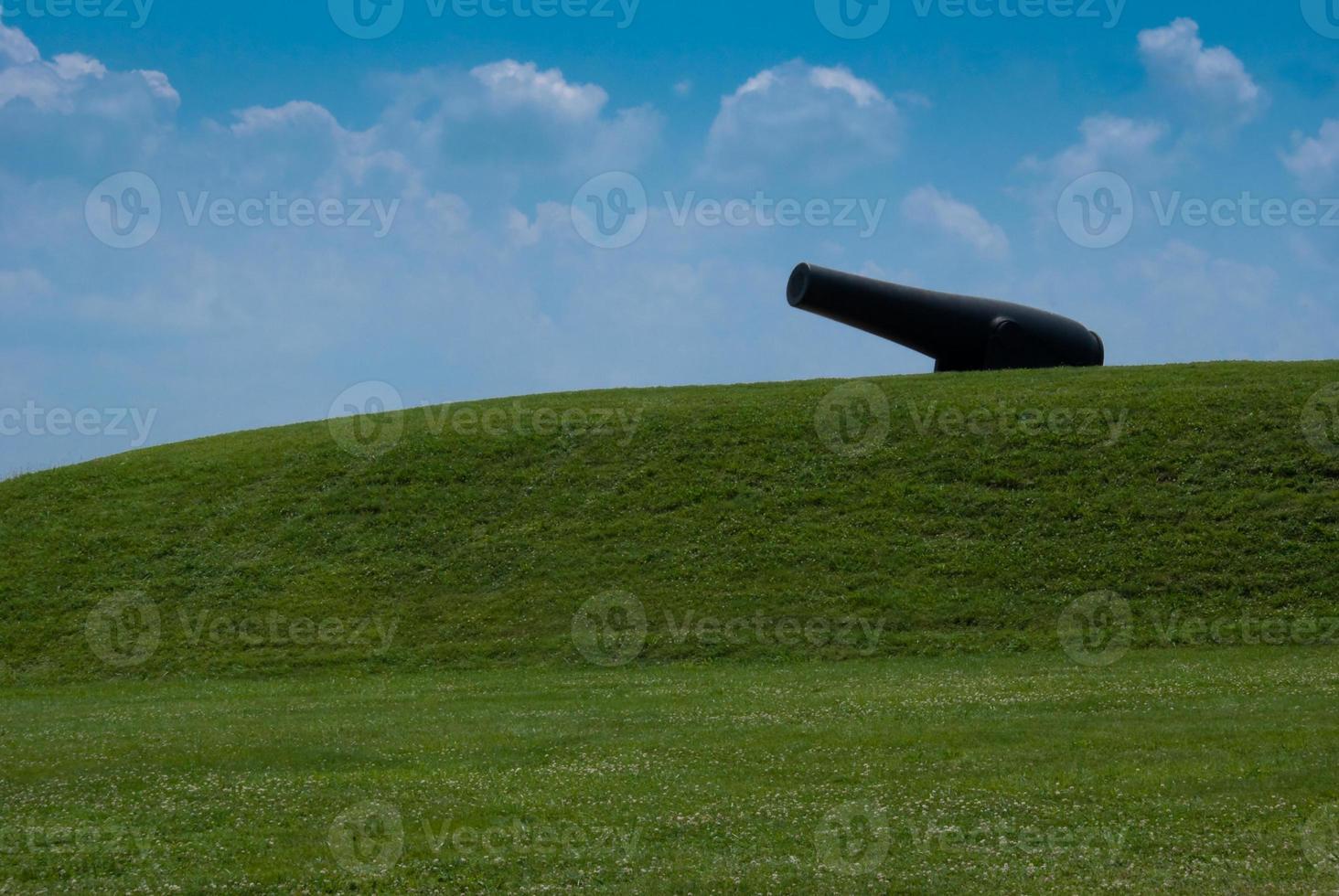 einsame Kanone - Baltimore, Maryland foto