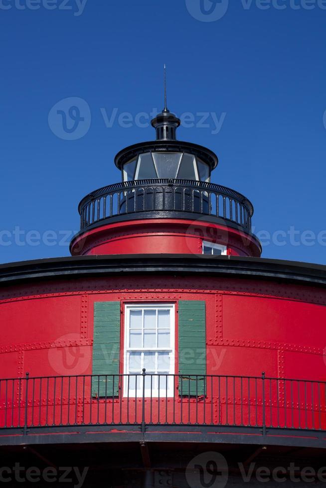 sieben Fuß Hügel Leuchtturm in Baltimore Maryland foto