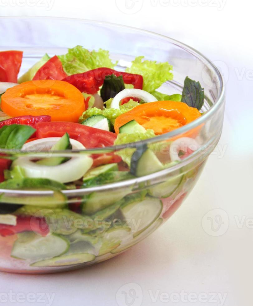 leckerer Salat foto