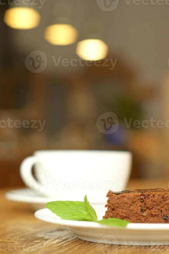 kawa i ciasto foto