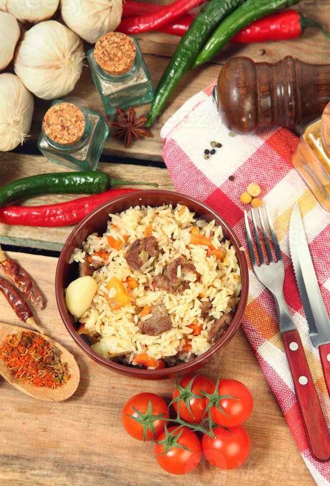 traditionelles Essen foto
