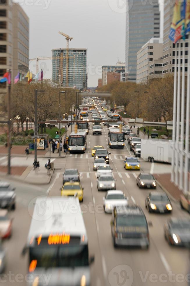 Baltimore Hauptverkehrszeit foto