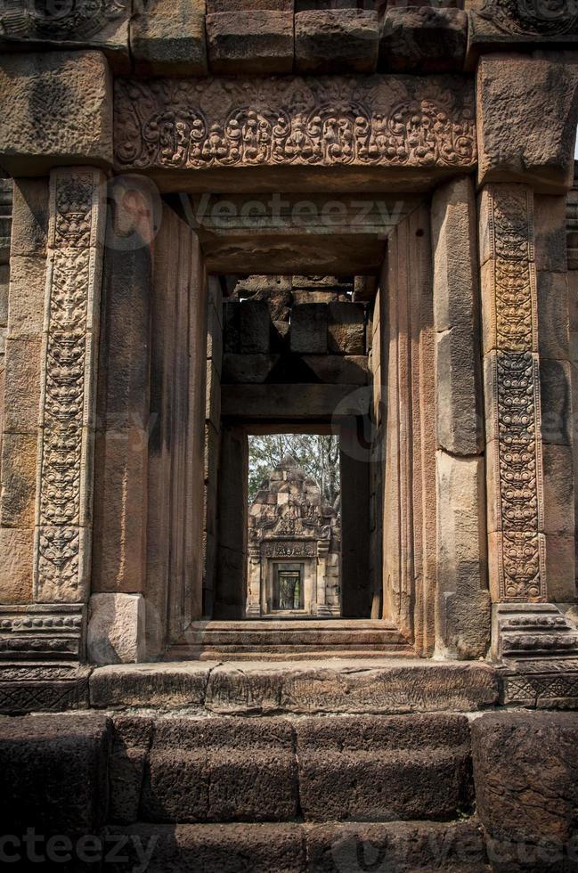 Schlossfelsen in Thailand foto