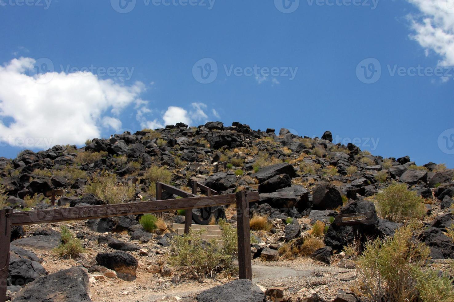 wanderndes Petroglyphen-Nationaldenkmal foto