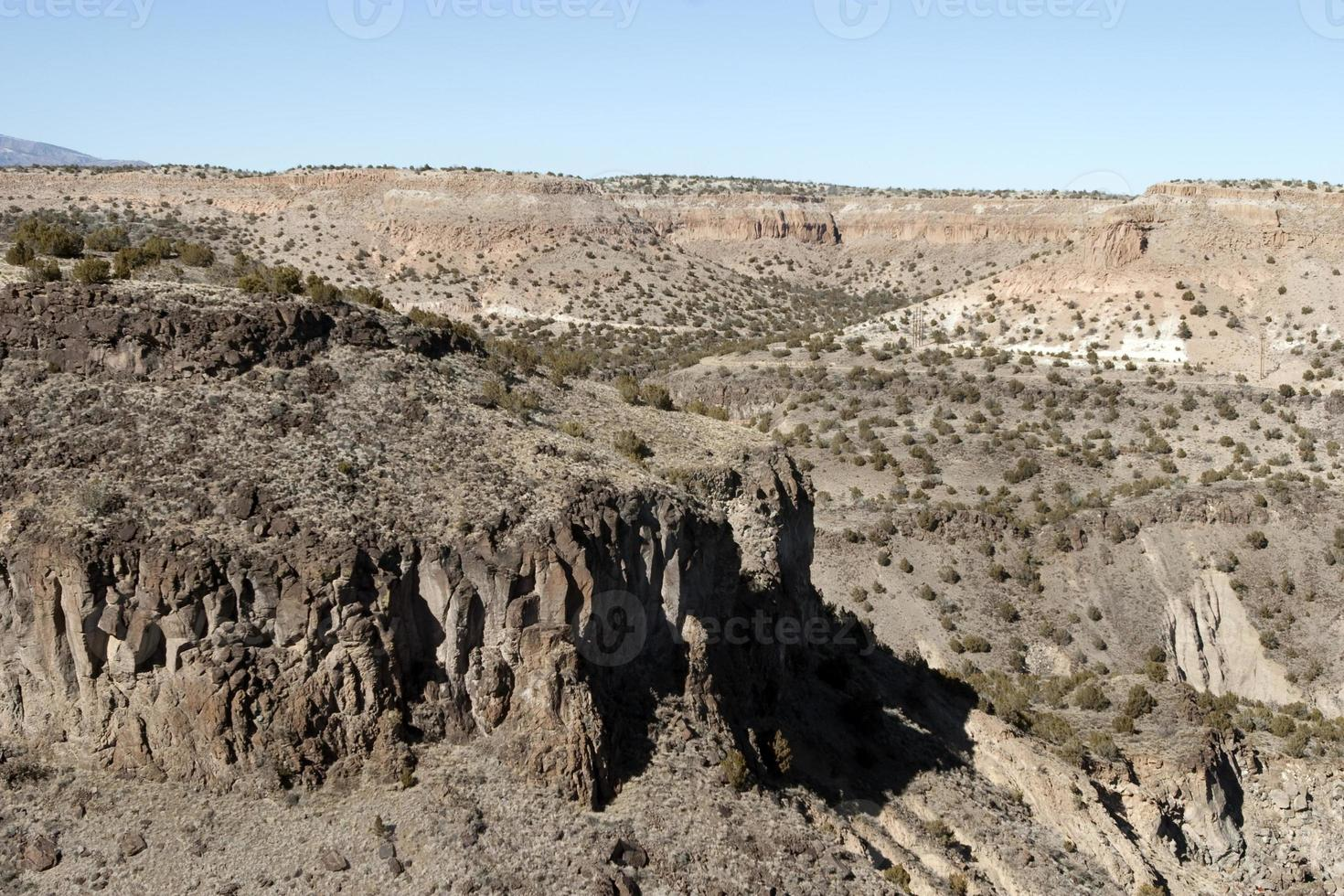 Felsformationen in New Mexico foto