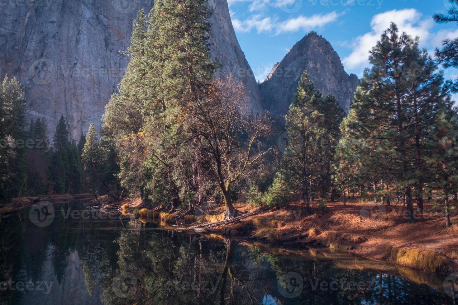 merced Fluss-Yosemite foto