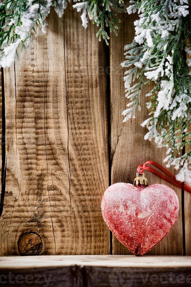 Weihnachtsherz. foto