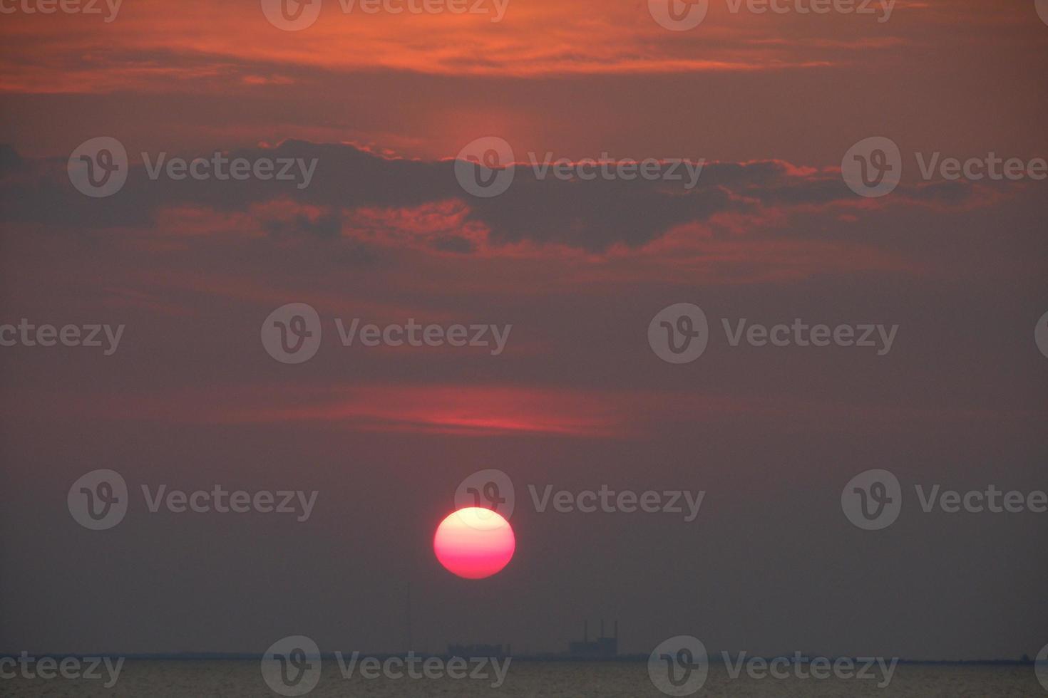 Tampa Bay Sonnenuntergang foto