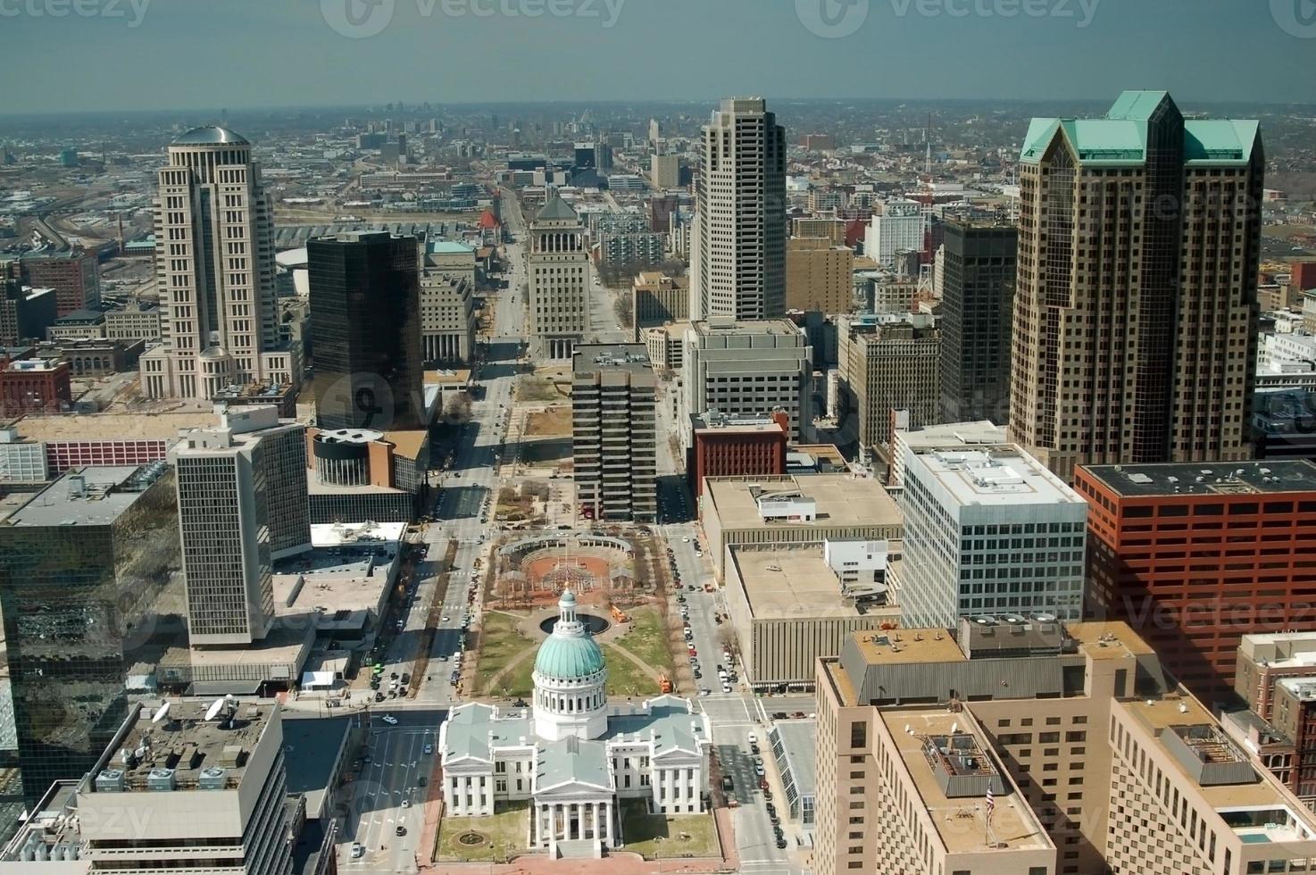 Innenstadt st. Louis, Missouri foto
