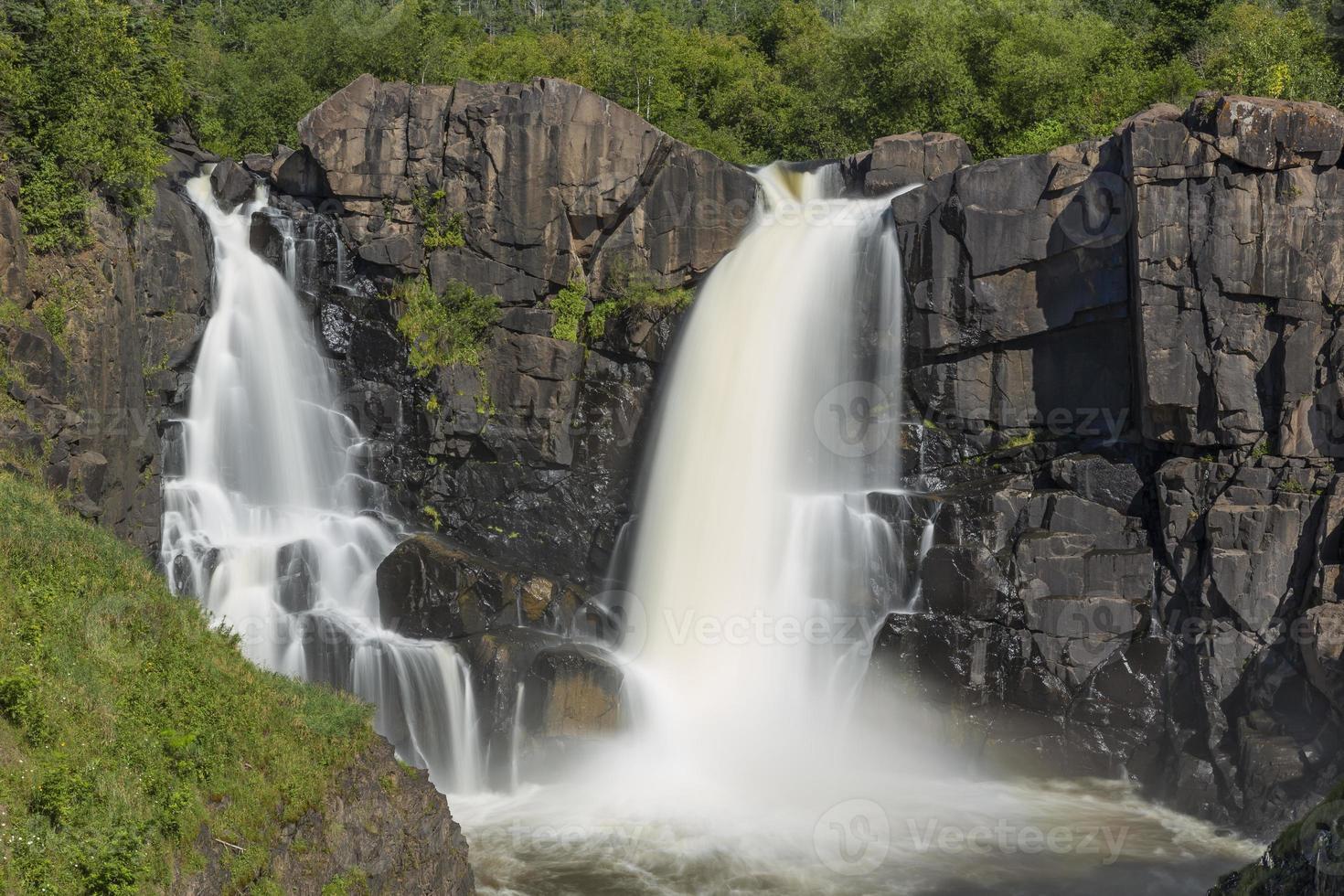 Taubenfluss Wasserfall foto