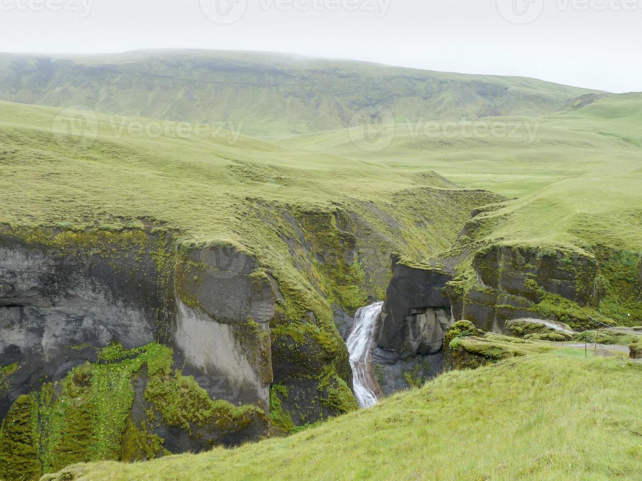 Fluss in Island foto
