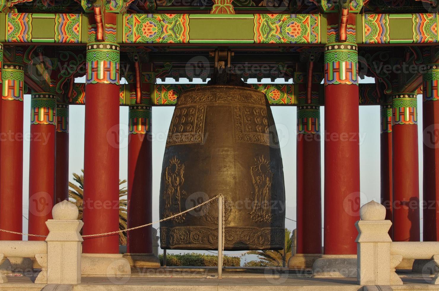 koreanische Glocke der Freundschaft foto