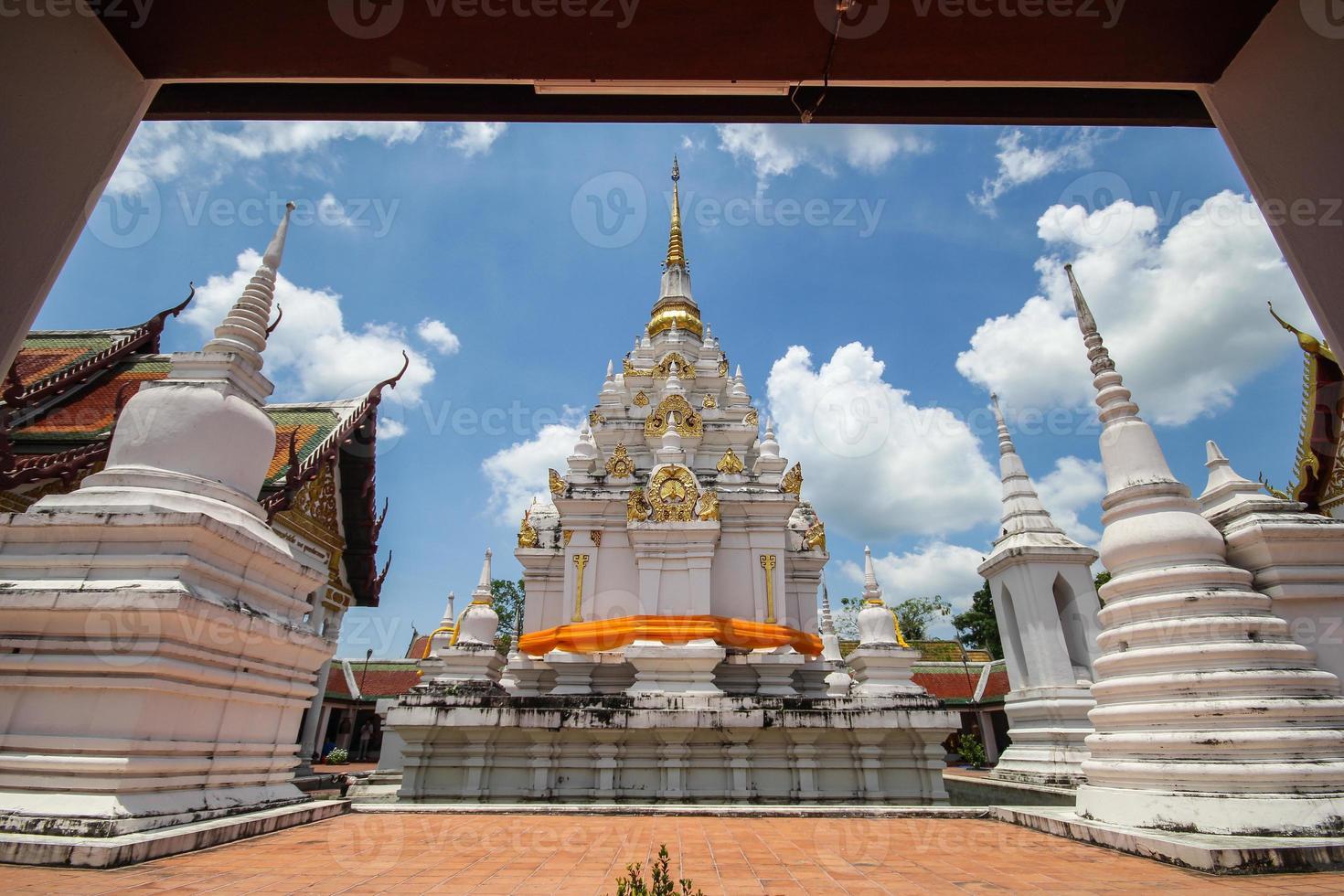 Phra Borom, dass Chaiya, Surat Thani, Thailand foto