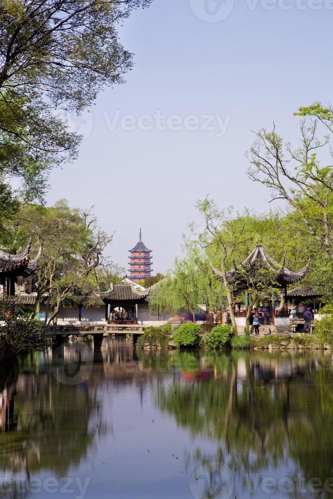 China, Suzhou, der Garten des bescheidenen Verwalters foto