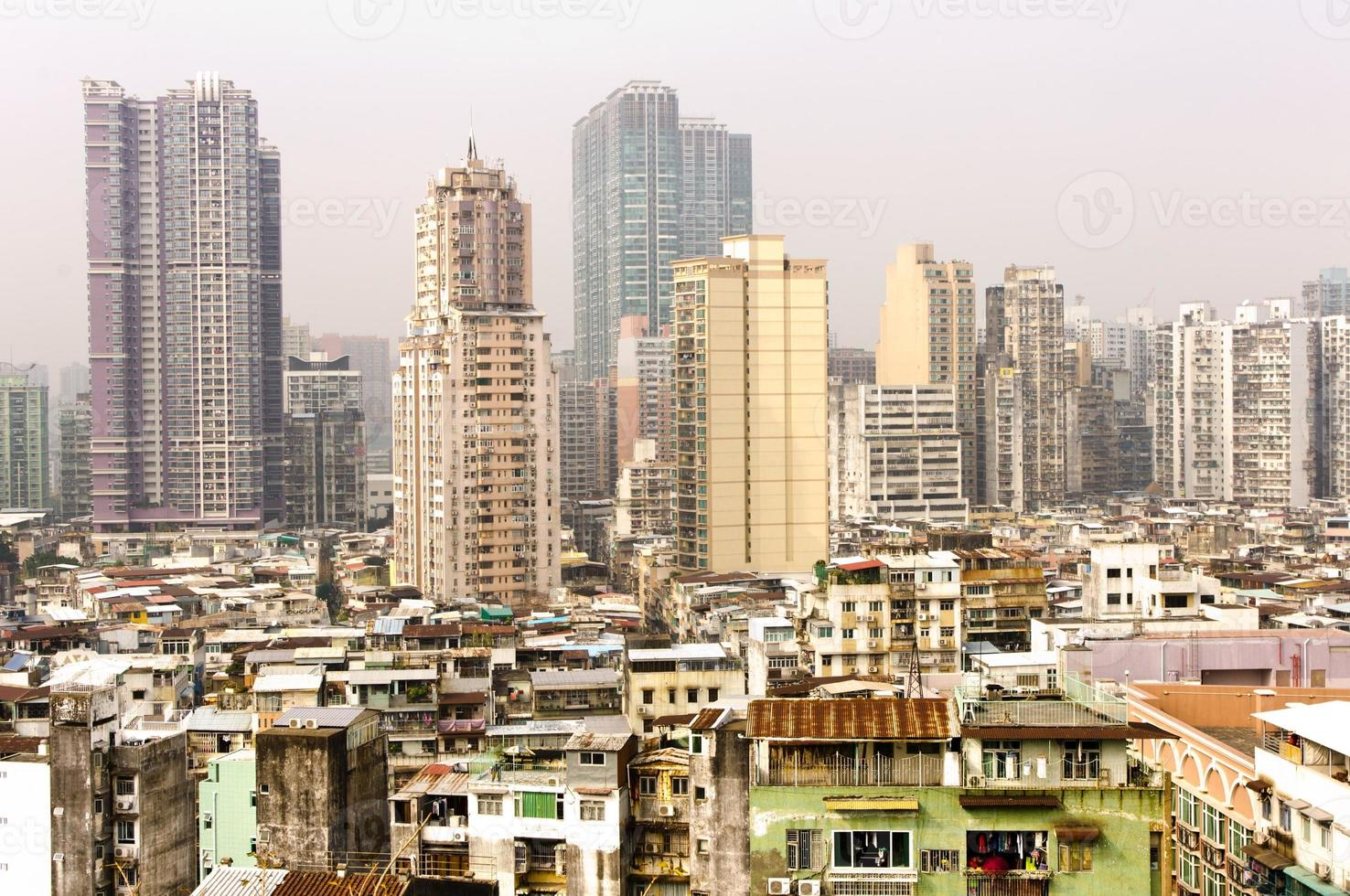 Stadt von Asien. Macau foto