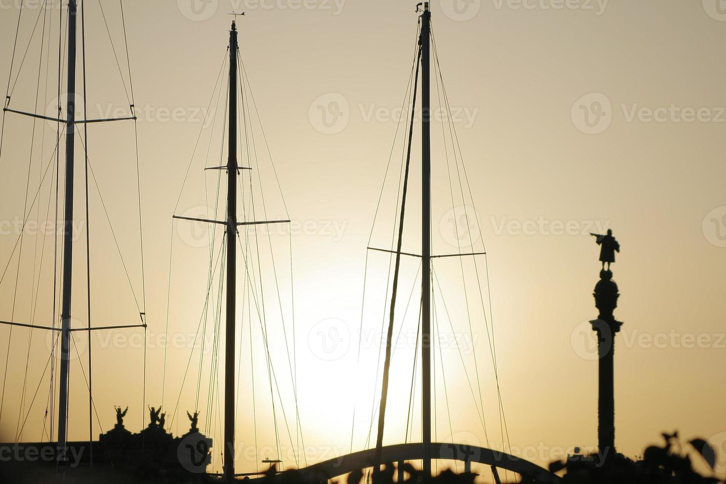 Hafen von Barcelona foto