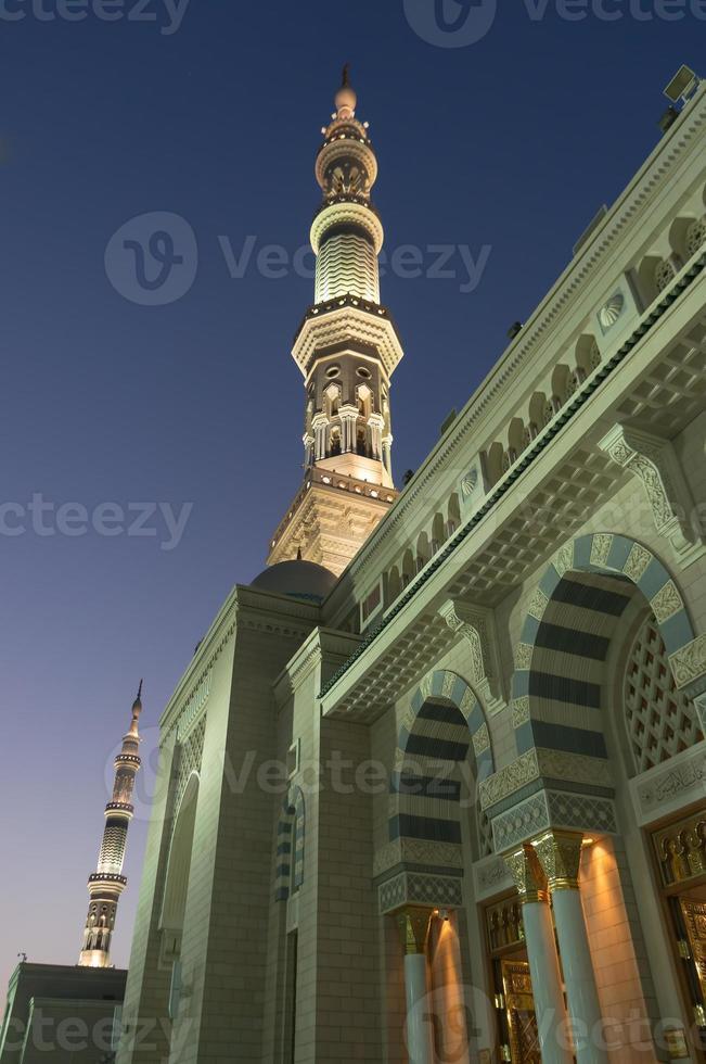 Minarette der Nabawi-Moschee foto