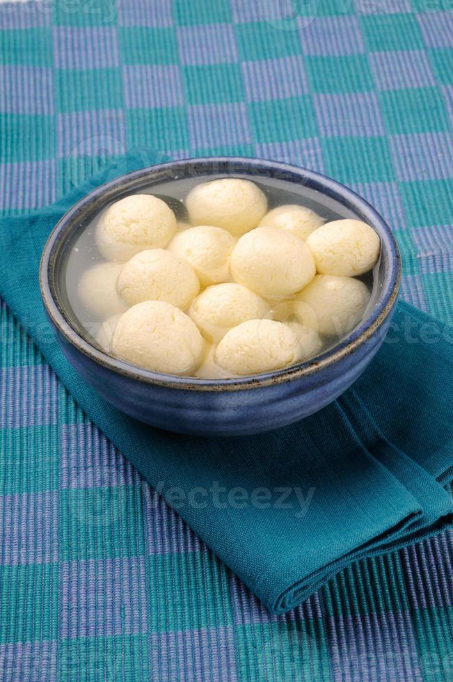 Bangladesch oder Indiens beliebteste süße Rasgulla, foto