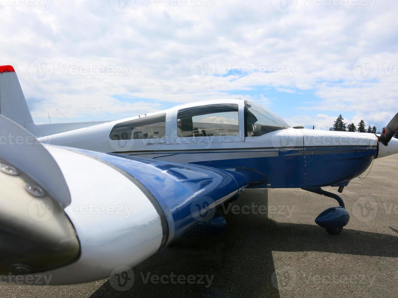 Propellerflugzeug foto