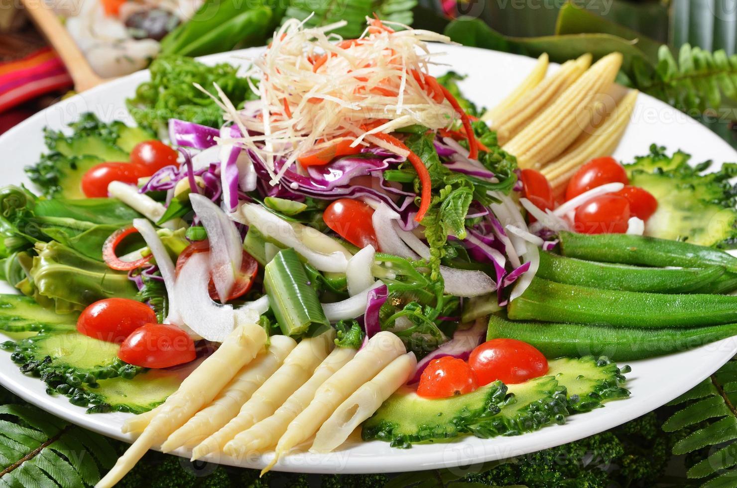 bunter Salat foto