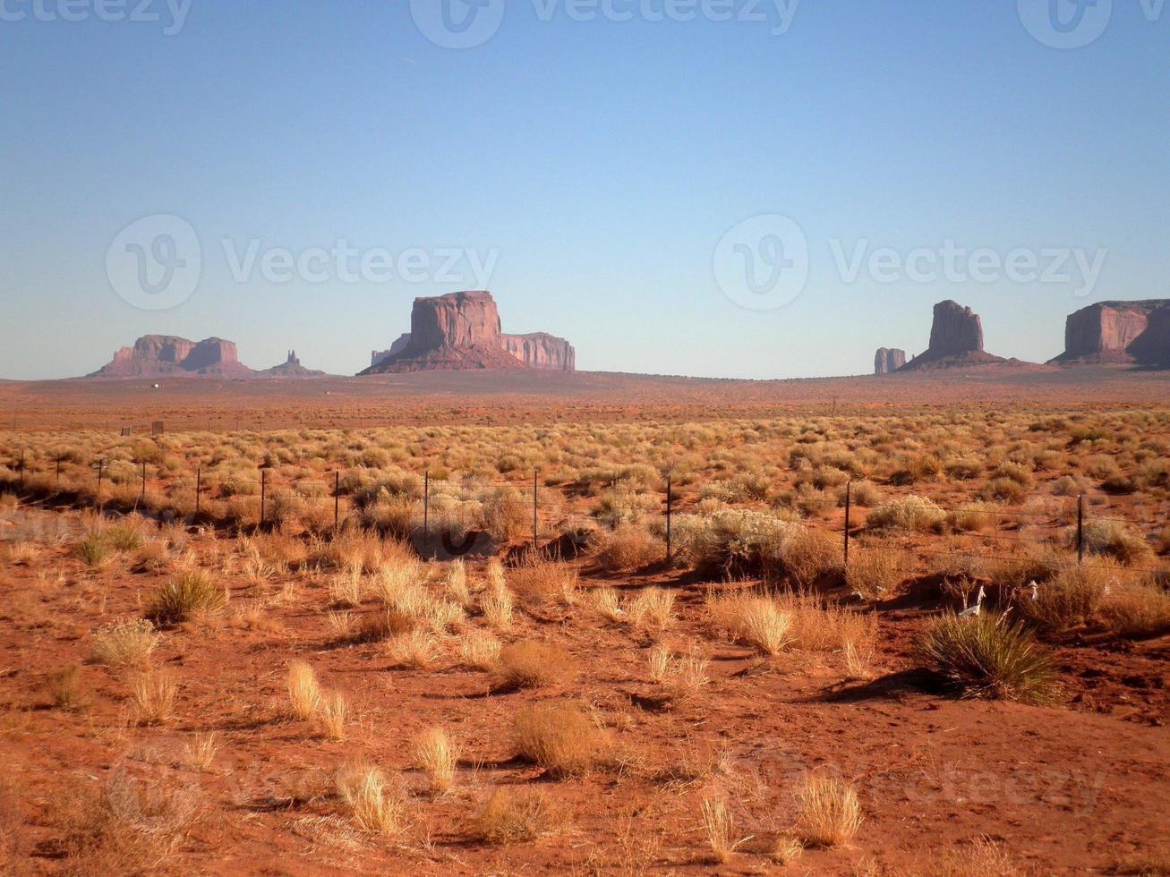 schöne landschaft in arizona foto