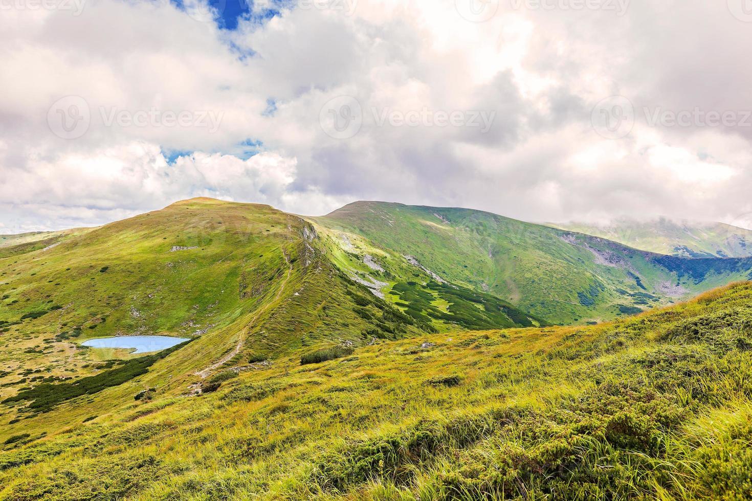 Landschaft des Sees Nesamovyte foto