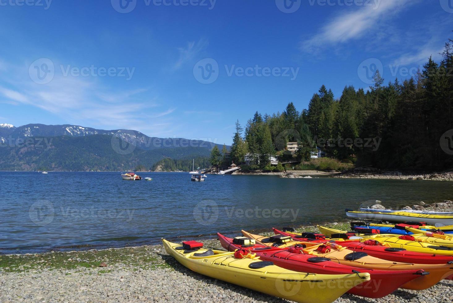 tiefe Bucht, North Vancouver foto