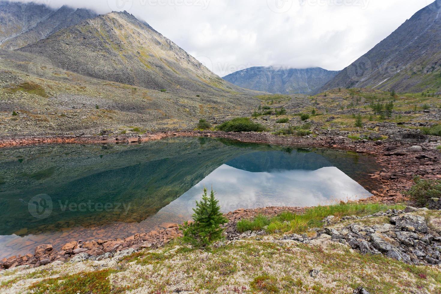 Berglandschaft. foto