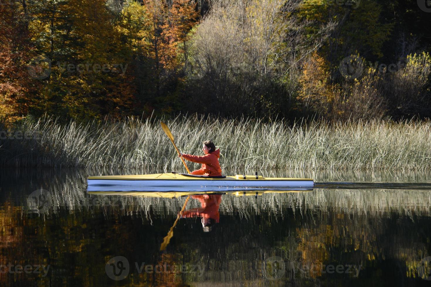 Kajak de otoño foto