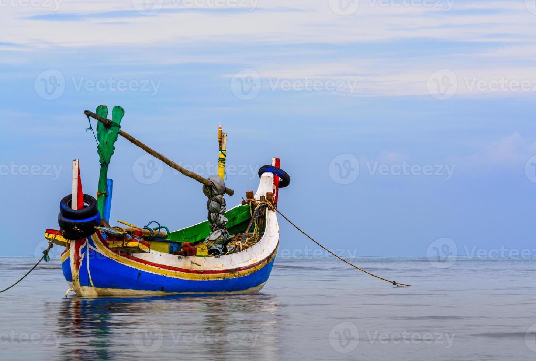 traditionelles Fischerboot foto