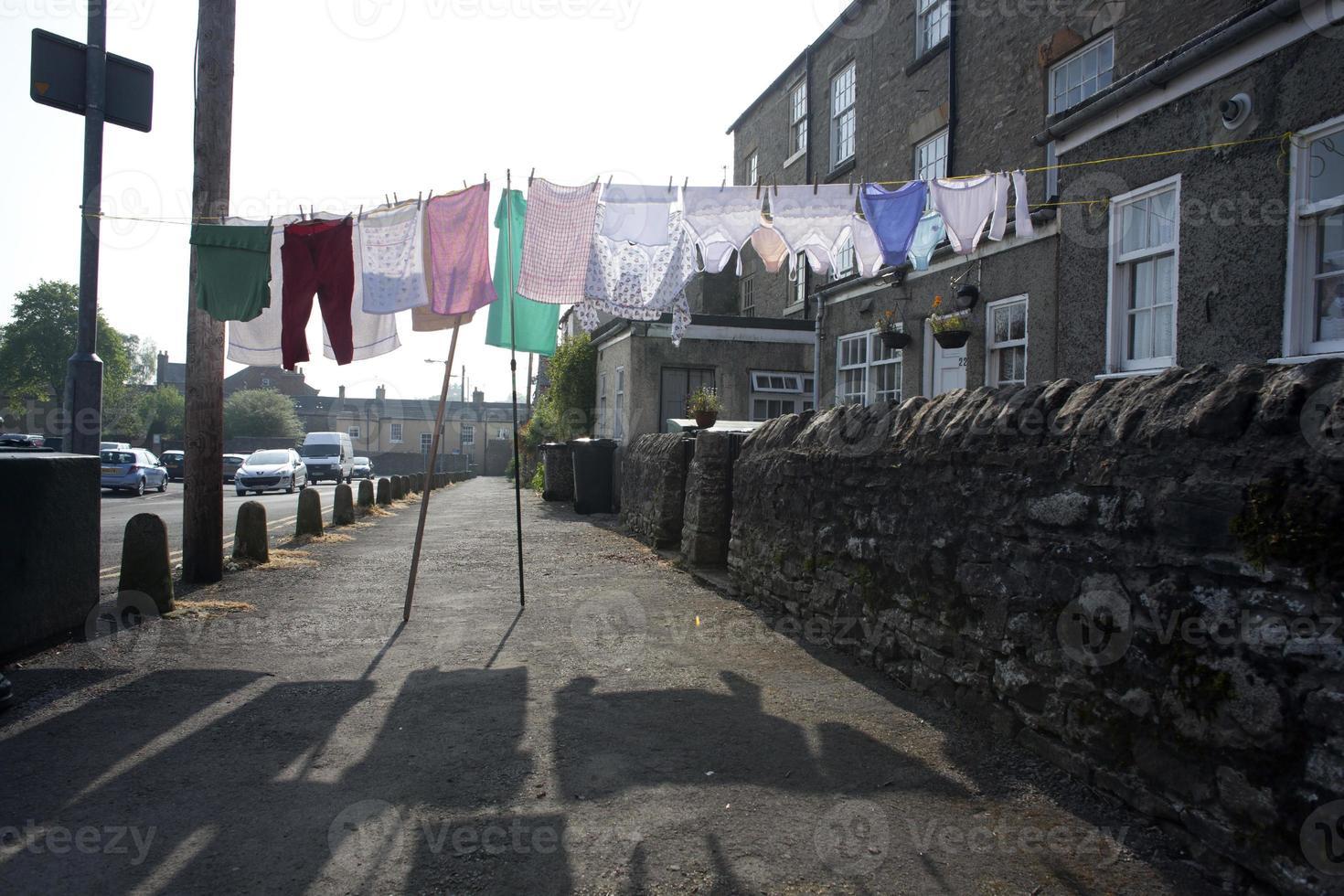 die Wäsche rumhängen, England foto