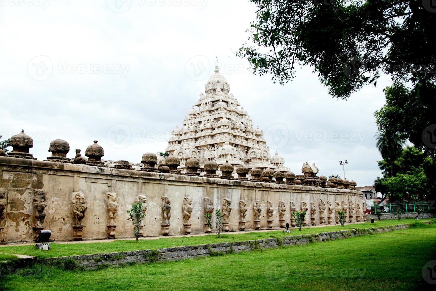 Kailasanathar Tempel in Kanchipuram foto