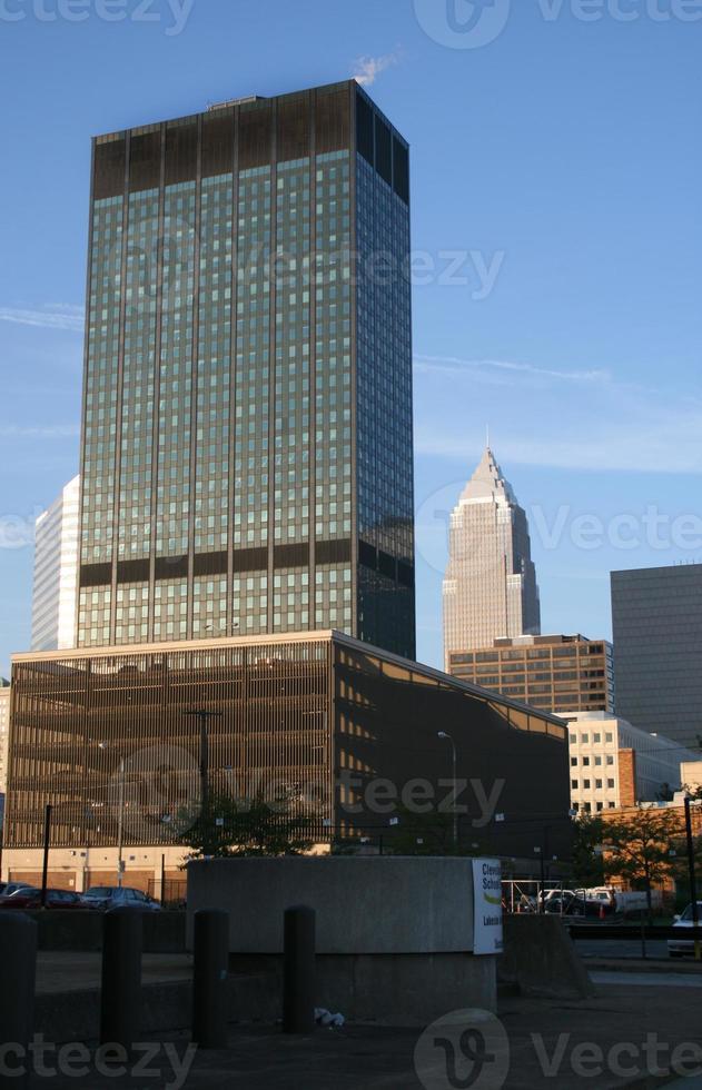 Cleveland Skyline foto
