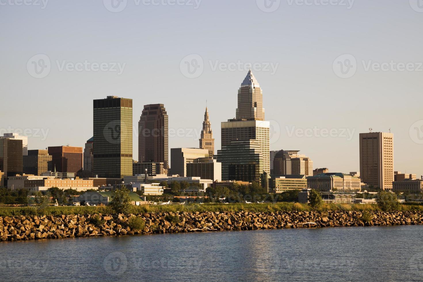 Cleveland vom See foto