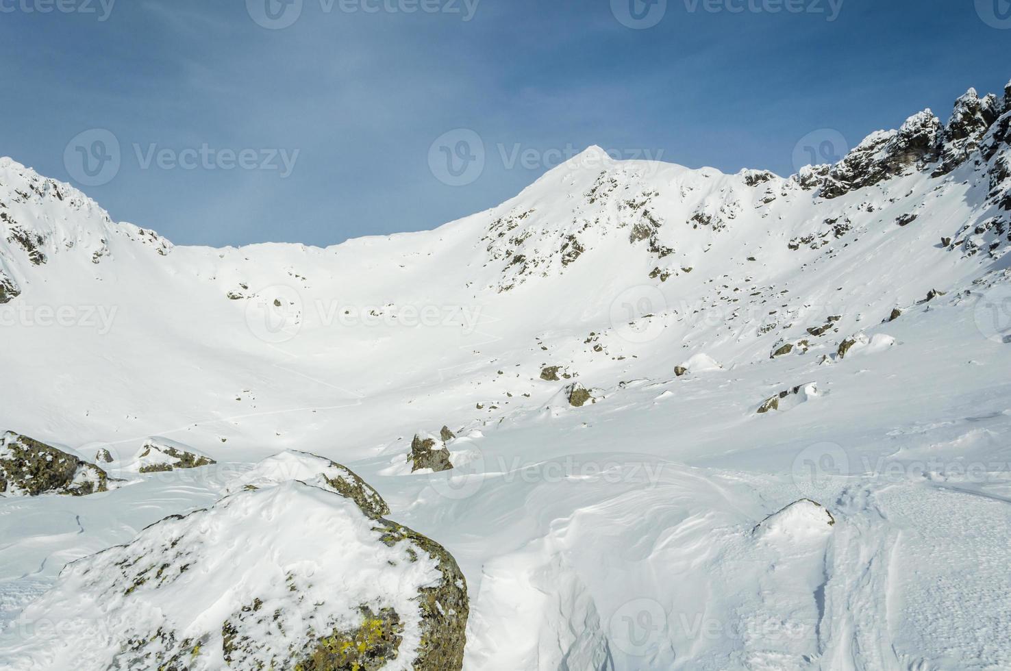 Winter in Tatras foto