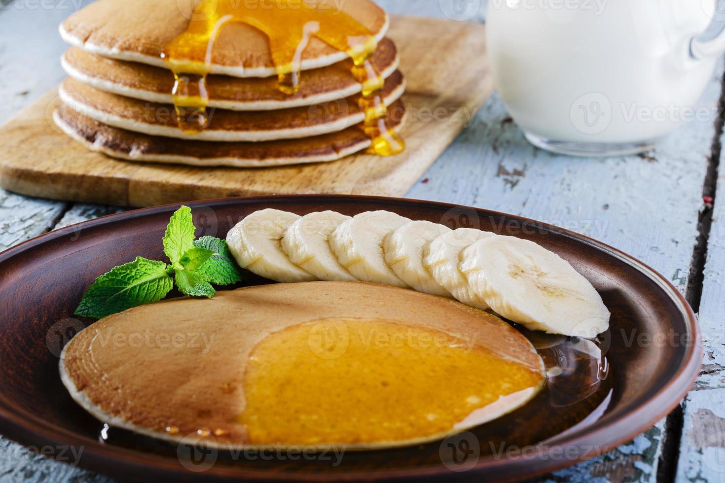 Pfannkuchen Banane foto