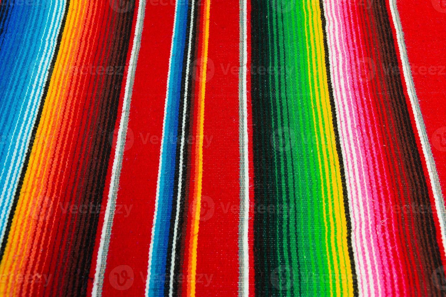 mexikanischer Poncho foto